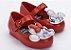 Sapatilha Mini Vermelha Sweet Love Minnie e Mickey - Melissa - Imagem 1