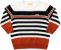 Suéter Bebê em Tricô Listras Menino - Charpey - Imagem 1