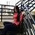 Blusa Gola Alta Viscose -Vermelho - Imagem 1