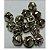 Guizo Dourado ou Prata 12mm - Imagem 2