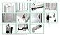 Janela de Correr em Alumínio Branco 4 Folhas Com Grade Vidro Liso Incolor - Linha 22 Marte Trifel - Imagem 2