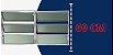 Basculante 2 Seções em Alumínio Brilhante c/ Vidro Mini Boreal - Brimak Plus - Imagem 3