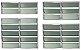 Basculante 2 Seções em Alumínio Brilhante c/ Vidro Mini Boreal - Brimak Plus - Imagem 1