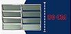 Basculante 2 Seções em Alumínio Brilhante c/ Vidro Mini Boreal - Brimak Plus - Imagem 4