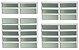 Basculante 2 Seções em Alumínio Branco c/ Vidro Mini Boreal - Brimak Plus - Imagem 1