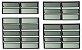 Basculante 2 Seções em Alumínio Preto c/ Vidro Mini Boreal - Brimak Plus - Imagem 1