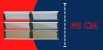 Basculante 2 Seções em Alumínio Mix Preto c/ Vidro Mini Boreal - Brimak Plus - Imagem 3