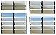 Basculante 2 Seções em Alumínio Mix Preto c/ Vidro Mini Boreal - Brimak Plus - Imagem 1