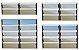 Basculante 2 Seções em Alumínio Mix Corten c/ Vidro Mini Boreal - Brimak Plus - Imagem 1