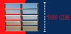 Basculante 2 Seções em Alumínio Mix Corten c/ Vidro Mini Boreal - Brimak Plus - Imagem 5