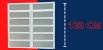 Basculante 2 Seções em Alumínio Branco c/ Vidro Mini Boreal - Brimak Elite - Imagem 6