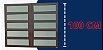 Basculante 2 Seções em Alumínio Corten c/ Vidro Mini Boreal - Brimak Elite - Imagem 5