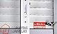 Janela Integrada em Alumínio Branco com Persiana de Enrolar e 2 Folhas Móveis Vidro Liso Acionamento Manual - Linha Jap Taparella Perfecta - Imagem 4