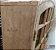 Janela Veneziana em Madeira Cedro Arana 4 Folhas de Abrir (Giro) com Ferragens em Arco sem Vidro - Batente de 14 Cm Uniportas - Imagem 4