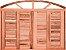 Veneziana de Correr Eucalipto Arco c/ Guarnição - Rick Esquadrias - Imagem 1