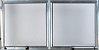 Janela Maxim-ar 2 Sec. Alumínio Brilhante - SPJ Modular - Imagem 1