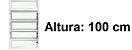 BASCULANTE 1 SECÇÃO VDR. BOREAL ALUMÍNIO BRANCO REQ. 2,5CM - LINHA FORTSUL - ESQUADRISUL - Imagem 5