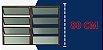 Basculante 2 Seções em Alumínio Corten c/ Vidro Mini Boreal - Brimak Plus - Imagem 4