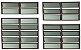 Basculante 2 Seções em Alumínio Corten c/ Vidro Mini Boreal - Brimak Plus - Imagem 1
