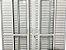 Porta Balcão 6 Folhas Alumínio Branco C/fechadura Vdr. Liso - SPJ Linha 25 - Imagem 3