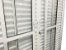 Porta Balcão 6 Folhas Alumínio Branco C/fechadura Vdr. Liso - SPJ Linha 25 - Imagem 2