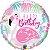 Flamingo Rosa de Aniversário - Imagem 1