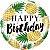 Abacaxis Dourados de Aniversário - Imagem 1