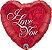 Eu Te Amo com Rosa Vermelha - Imagem 1