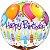 Balão Bubble Transparente Balões e velas de aniversário - Imagem 1