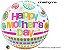 Balão Bubble Transparente Mother's Day Dots & Patterns - Imagem 1
