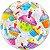 Balão Bubble Transparente Cupcakes - Imagem 1