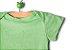Body manga curta verde - Imagem 2