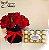 Luxuosa Box de Rosas Vermelhas com Ferrero Rocher  - Imagem 1