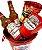 Balde de Cerveja Pequeno Budweiser - Imagem 2