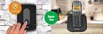 Kit Porteiro Eletrônico Sem Fio com 1 Ramal TIS 5010 Intelbras + 1 Ramal sem fio Digital TS 5121 - Imagem 3