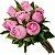 Buquê 7 rosas Roxas - Imagem 1