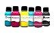 Kit 6 Tinta Sublimática para uso em Epson Ecotank e Bulk Ink  - Imagem 1