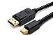 Cabo Mini Displayport X Hdmi 2k Ultra Hd Thunderbolt 1,8m - Imagem 5