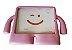 CAPA CASE IGUY IPAD 2 3 4 ARMADURA INFANTIL ROSA 10.1 - Imagem 1