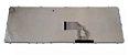 TECLADO SONY VAIO SVE15 SVE151J11X BRANCO C/ MOLDURA ABNT2     - Imagem 2