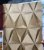 Papel De Parede Viníico 3d Sala Quarto Geométrico com cola - Imagem 1