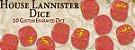 A Song of Ice & Fire - Conjunto de Dados Lannister (PRÉ-VENDA. PREVISÃO 12/2019) - Imagem 2