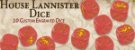 A Song of Ice & Fire - Conjunto de Dados Lannister  - Imagem 2