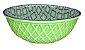 Bowl Verde Seladon e Azul - Imagem 1