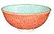 Bowl Coral e Azul - Imagem 1