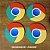 Kit porta-copos Chrome - Imagem 2