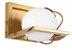 Arandela Baya 1L E-27 - Dourada - Casa do Led (5913) - Imagem 1