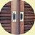 Puxador concha de Embutir  15cm - Imagem 1