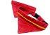 Coleira Bandana + Guia Vermelha e Jeans - Imagem 3