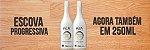 Escova de Quiabo 250ml shampoo anti-resíduos + escova progressiva  - Imagem 1